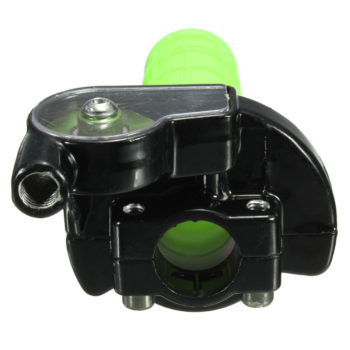 7/8 inch Throttle Grip Twist With Cable (Green)