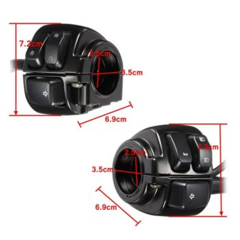 1inch Motorcycle Handlebar Control Switches