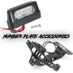 Number Plate Accessories