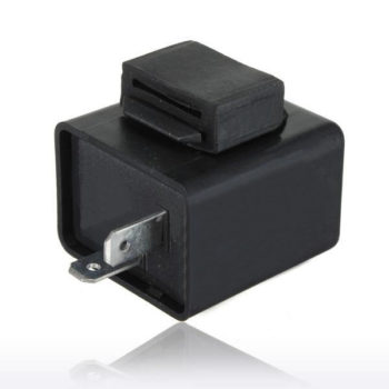 2 pin 12V Motorcycle Flasher Relay for LED Indicators