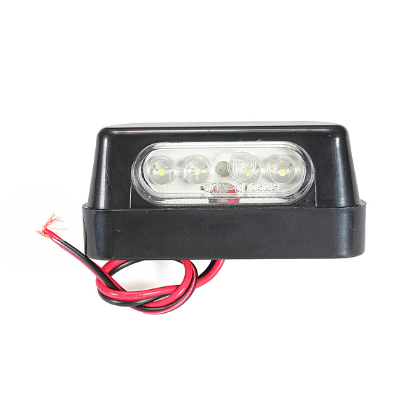 Universal 4 LED Number Plate Light E-marked
