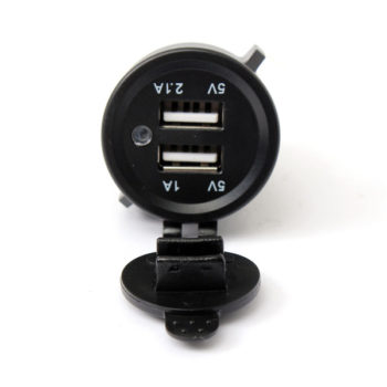 12/24V Dual USB Socket Charger Adapter