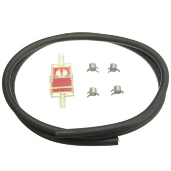 6mm Fuel Filter and Fuel Hose with 4 Clips