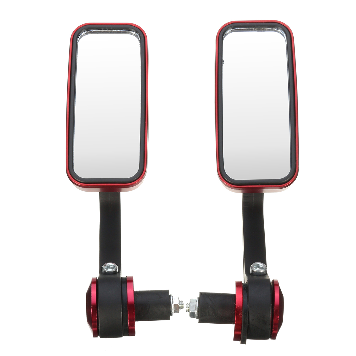 7/8inch 22mm Rectangle Bar End Mirrors